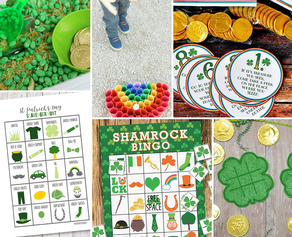 20 Fun, Kid-Approved St. Patrick's Day Games to Test Your Luck