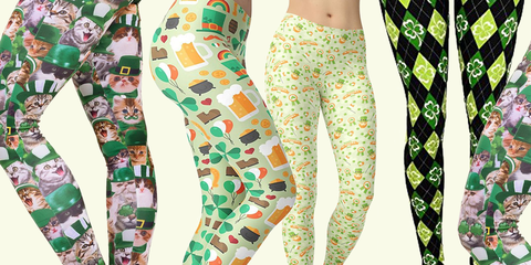 39fbf0daf0ccde 10 St. Patrick's Day Leggings You'll Feel Lucky to Wear