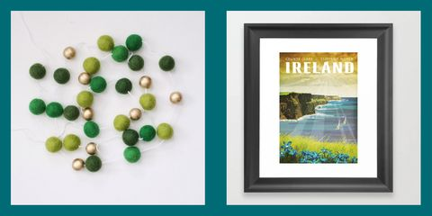 chic st. patrick's day decorations