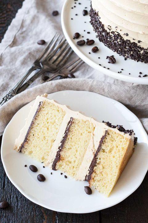 st patricks day boozy desserts coffee baileys cake