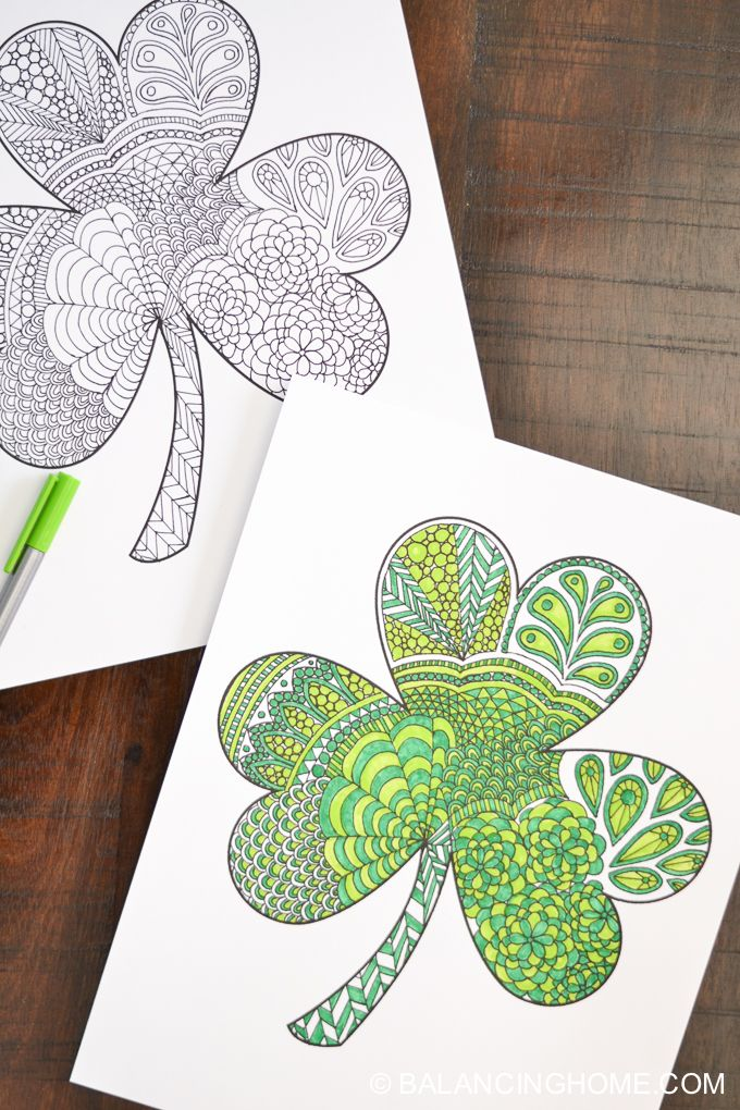 24 Easy St  Patrick's Day Crafts for Adults and Kids - Fun St