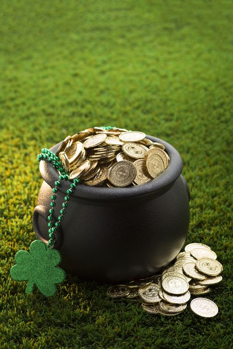 st patricks day games find the coin