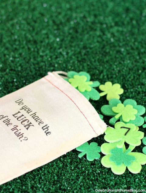 st patricks day games lucky number