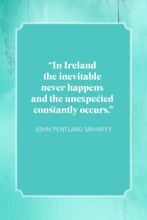 st patricks day quotes john pentland mahaffy
