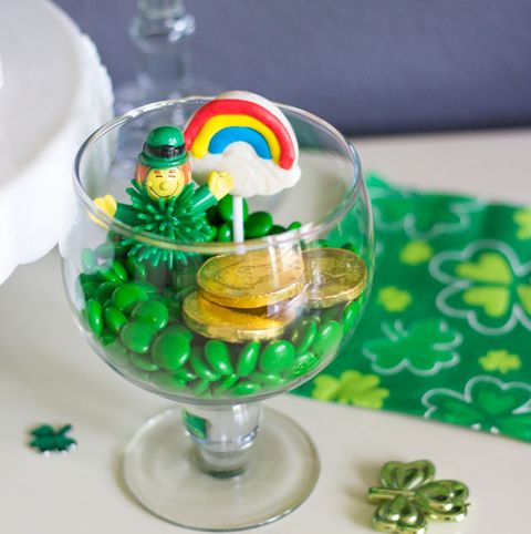 St Patrick's Day Crafts - St. Patrick's Day Terrariums
