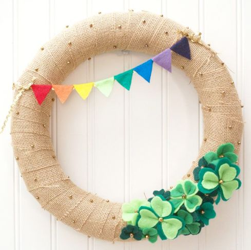 St Patrick's Day Wreaths