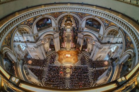 Architecture, Basilica, Building, Photography, Ceiling, Church, Byzantine architecture, Symmetry, Stock photography, Dome,