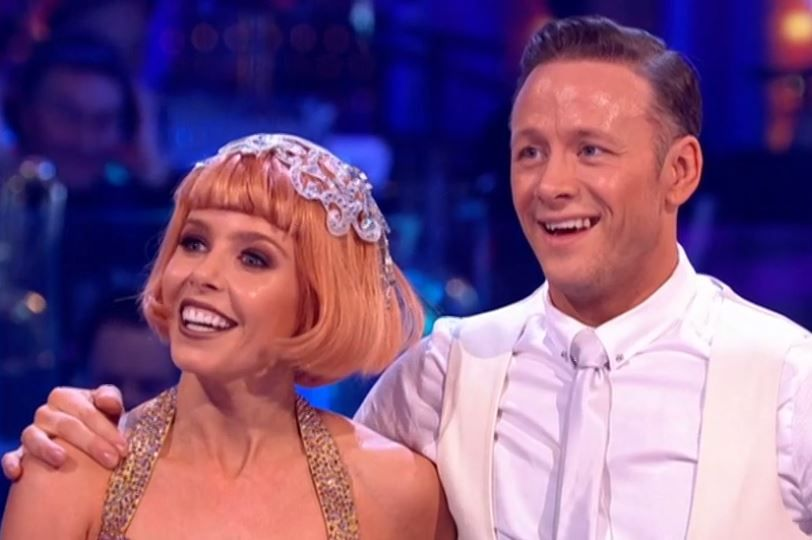 Stacey Dooley and Kevin Clifton on Strictly Come Dancing