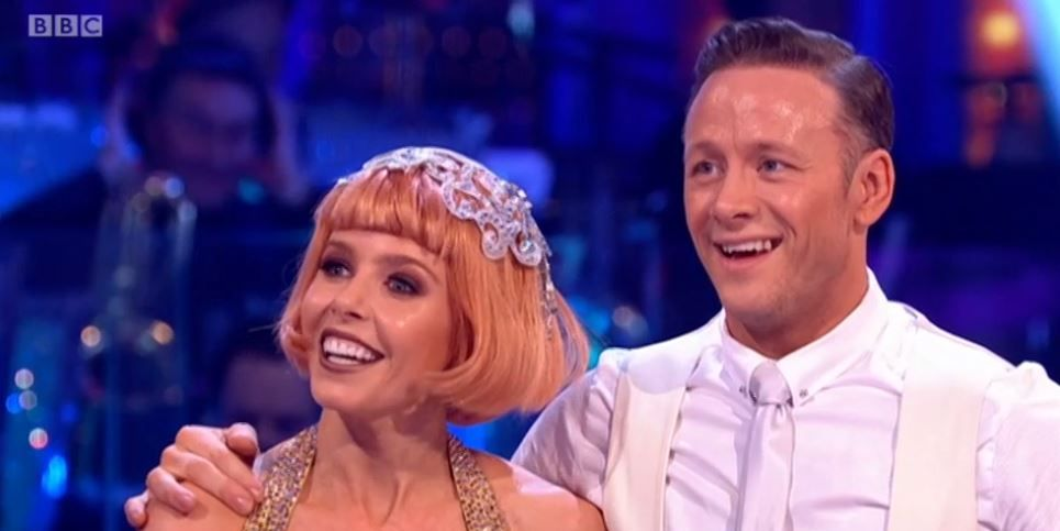 Stacey Dooley's friend Sam Tucknott was so sweet in the audience of Strictly Come Dancing