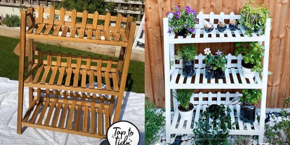 Stacey Solomon's garden DIY hacks during lockdown