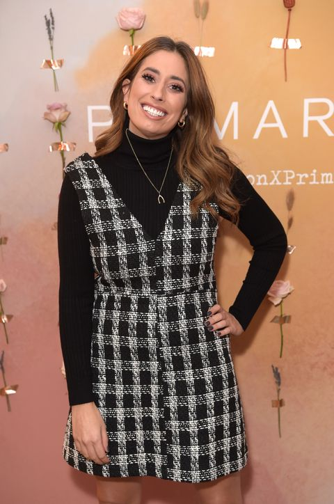 london, england   october 10  stacey solomon attends the vip launch party celebrating her new collection with primark, on october 10, 2019 in london, england photo by david m benettdave benettgetty images for primark