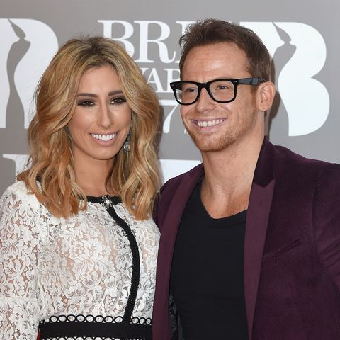 Stacey Solomon shares adorable picture of Joe Swash with mini-me baby Rex