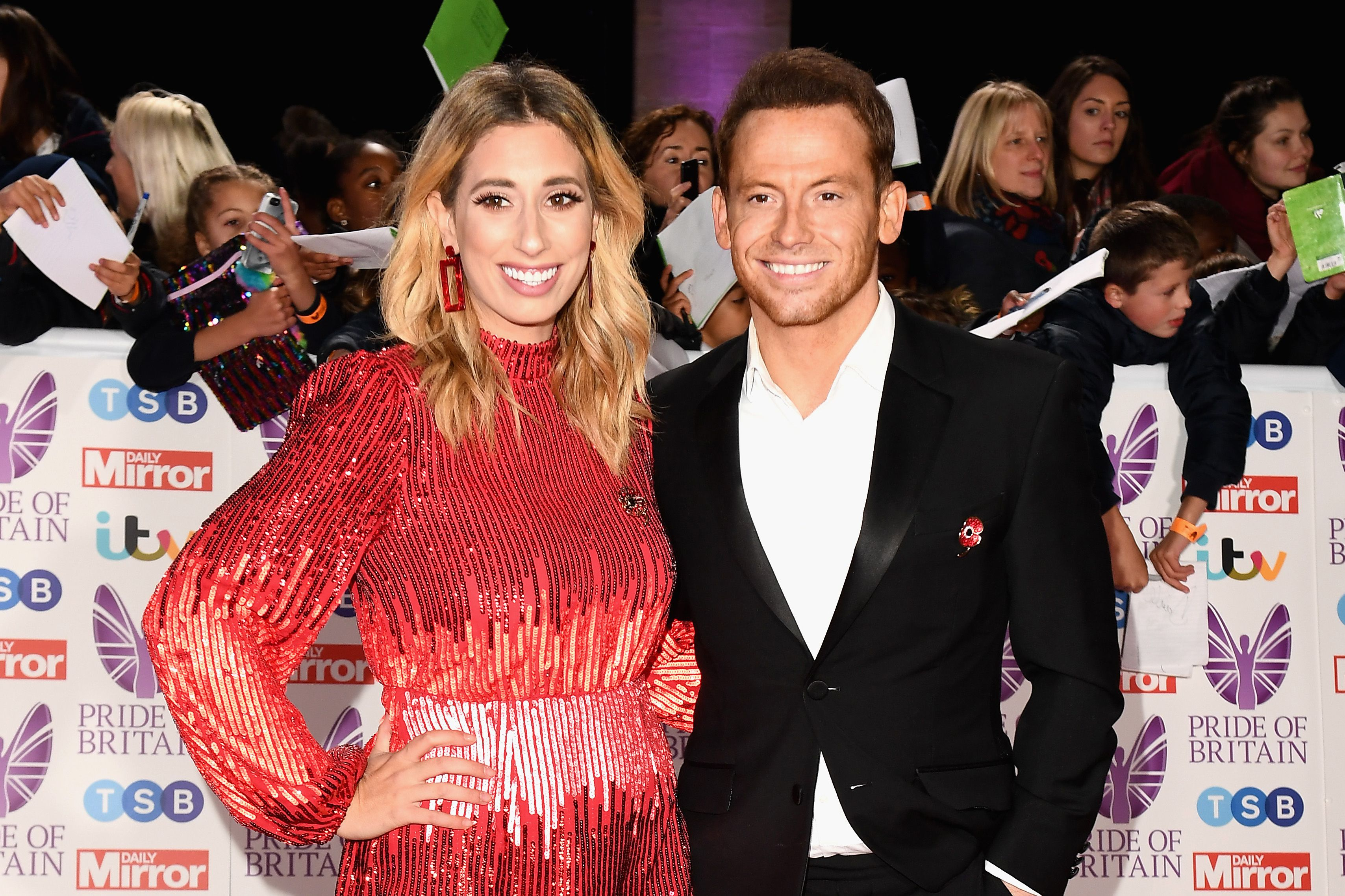 Stacey Solomon shares her bedtime routine struggle with adorable snap