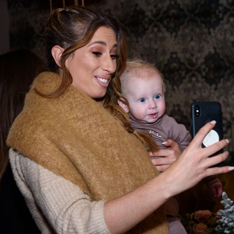 Stacey Solomon posts matching Mother's Day selfie with her boys