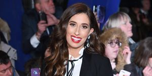 Stacey Solomon National Television Awards 2019 - Red Carpet Arrivals