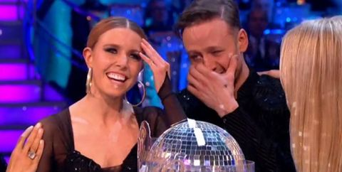 Stacey Dooley Kevin Clifton Strictly Come Dancing