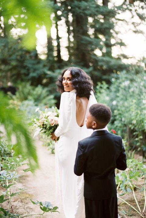 stacia davis avant sa cérémonie de mariage