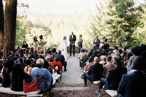 Cérémonie de Stacia et Mario Davis