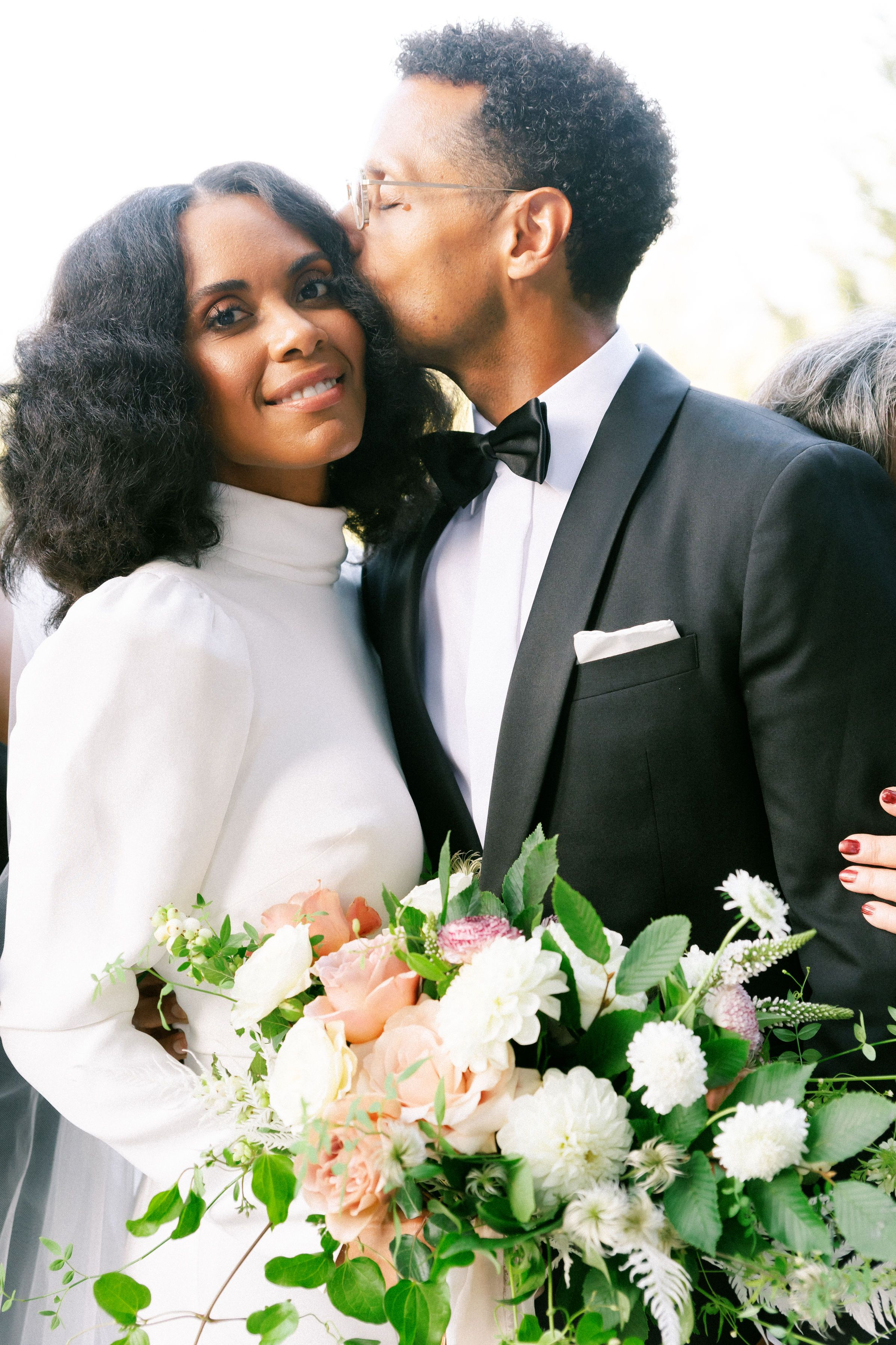 Juste mariée et prête à baiser