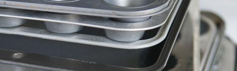 Stack of Baking Pans