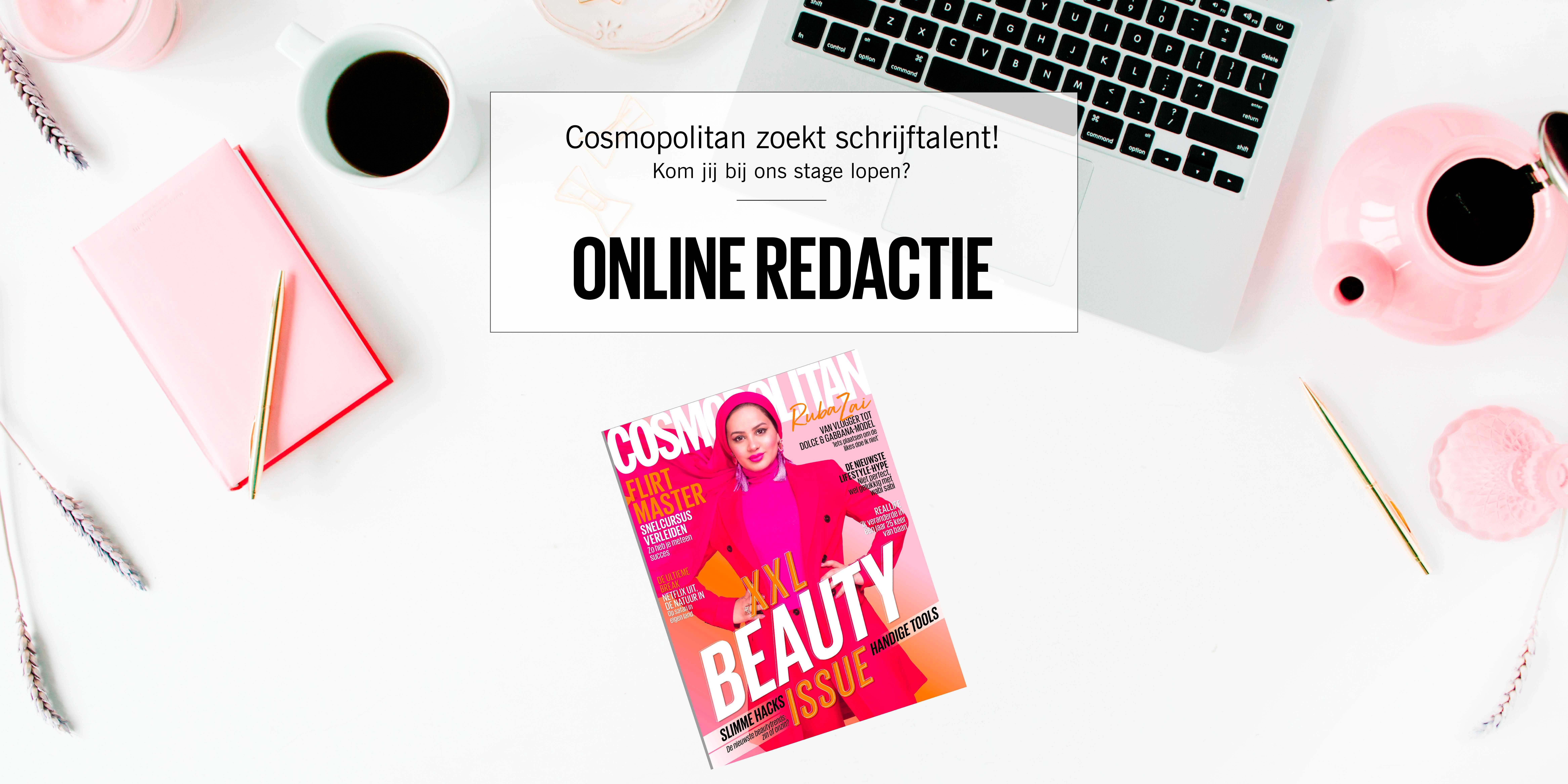 Stage lopen bij Cosmopolitan