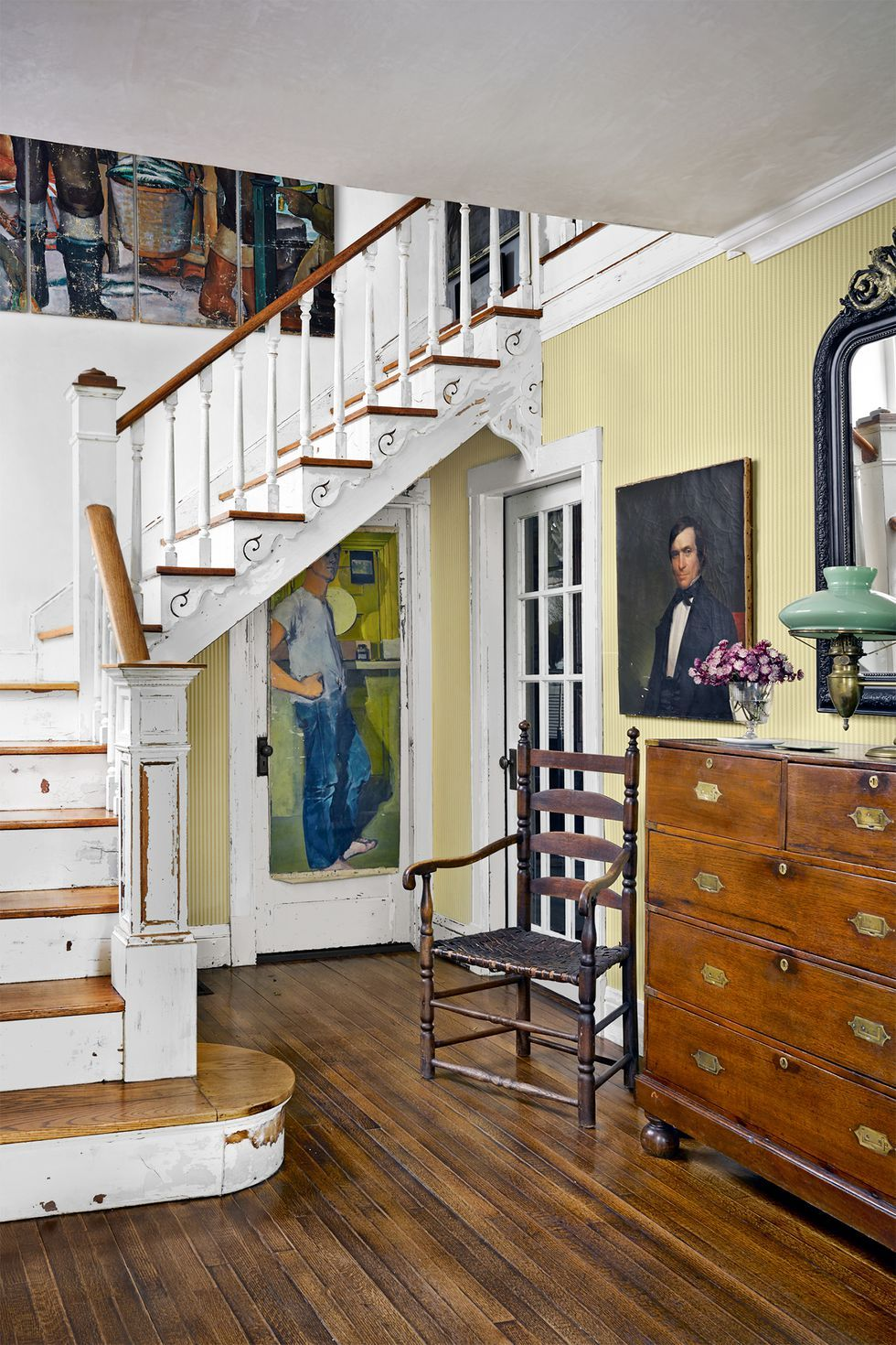 Wooden Staircase For House Decoration
