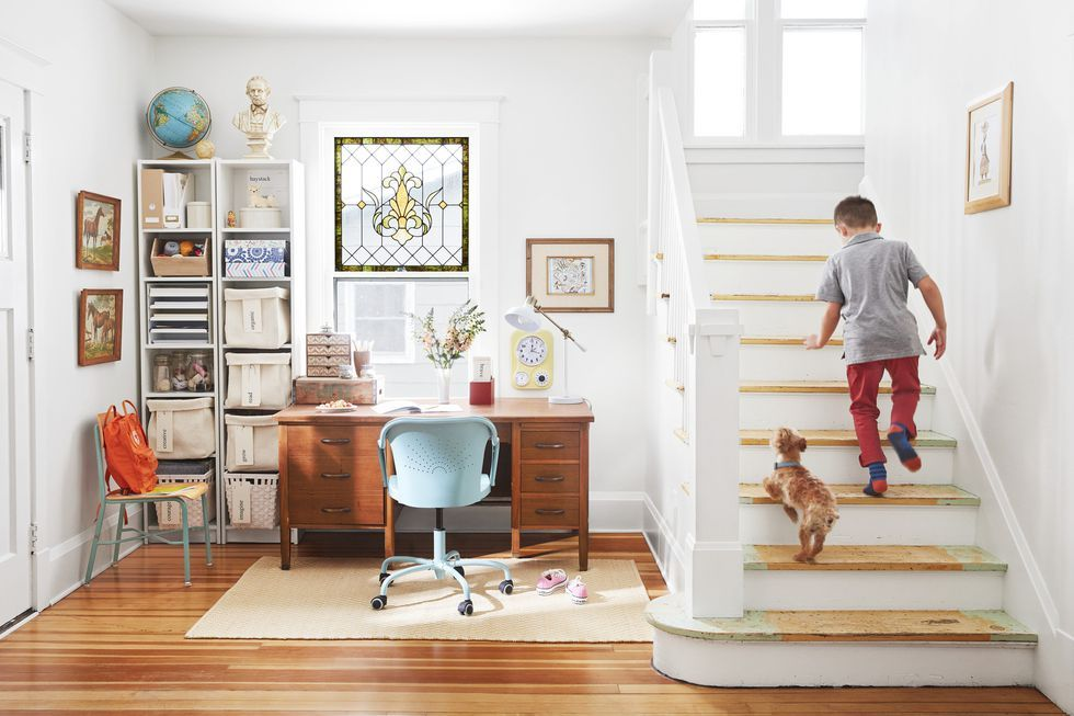 18 Pretty Painted Stairs How To Paint Stair Rails