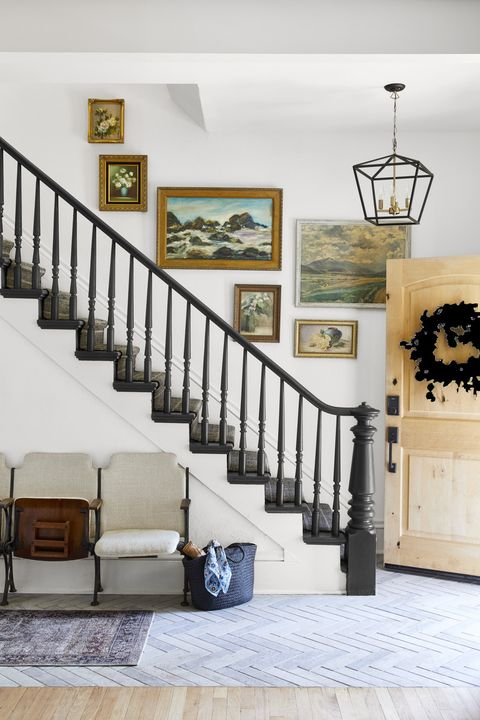 staircase ideas black