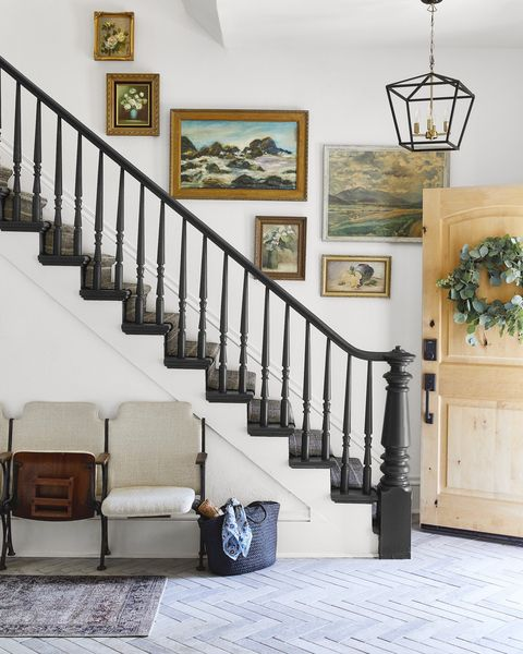stairs entryway design ideas