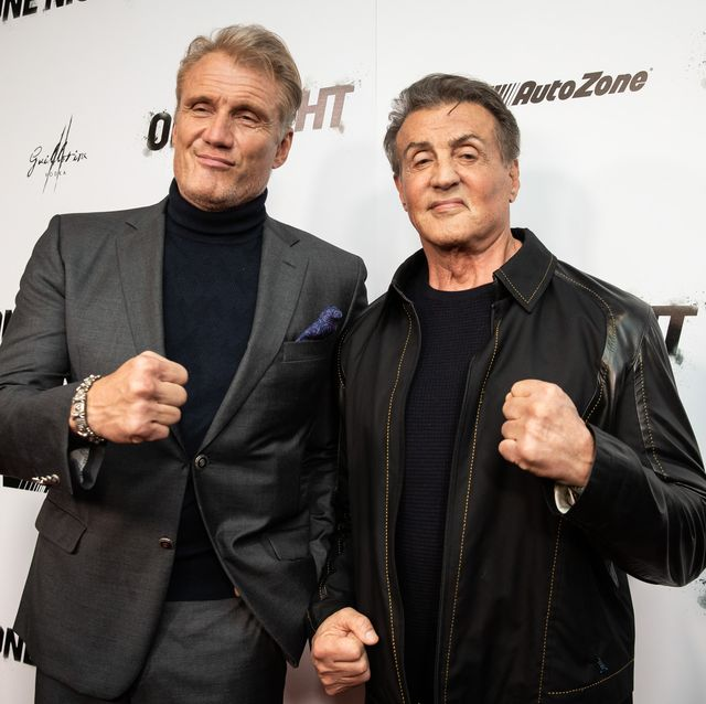 Dolph Lundgren y Sylvester Stallone