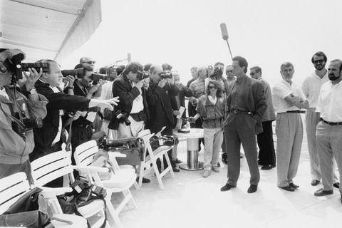 Stallone en Cannes