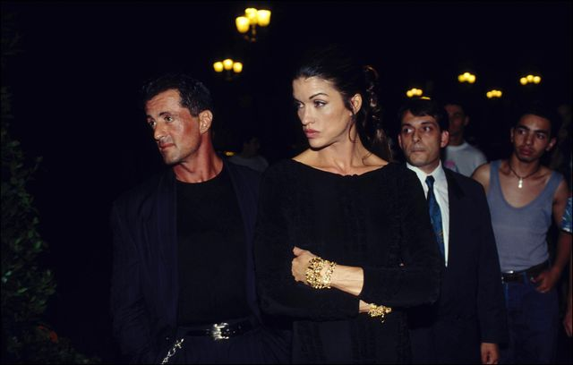 france   july 17  paris gianni versace fashion show people on july 17th, 1994    photo by william stevensgamma rapho via getty images