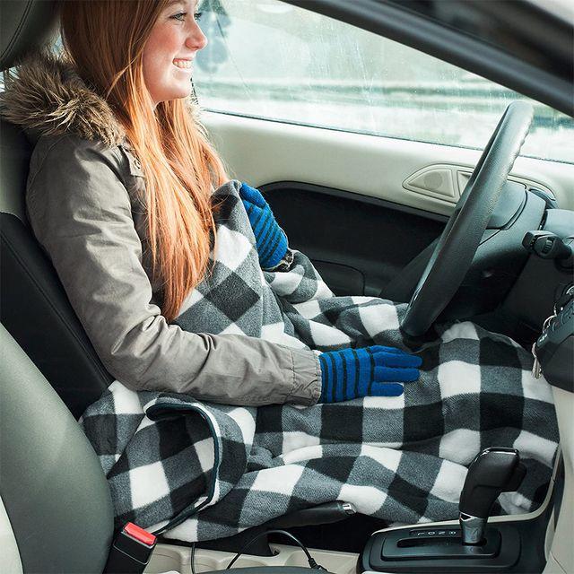 stalwart car electric heated blanket