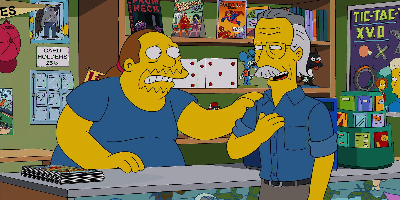 StanLee Simpsons