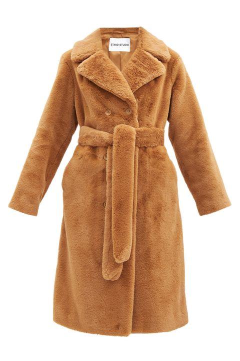 stand studio   best faux fur coats