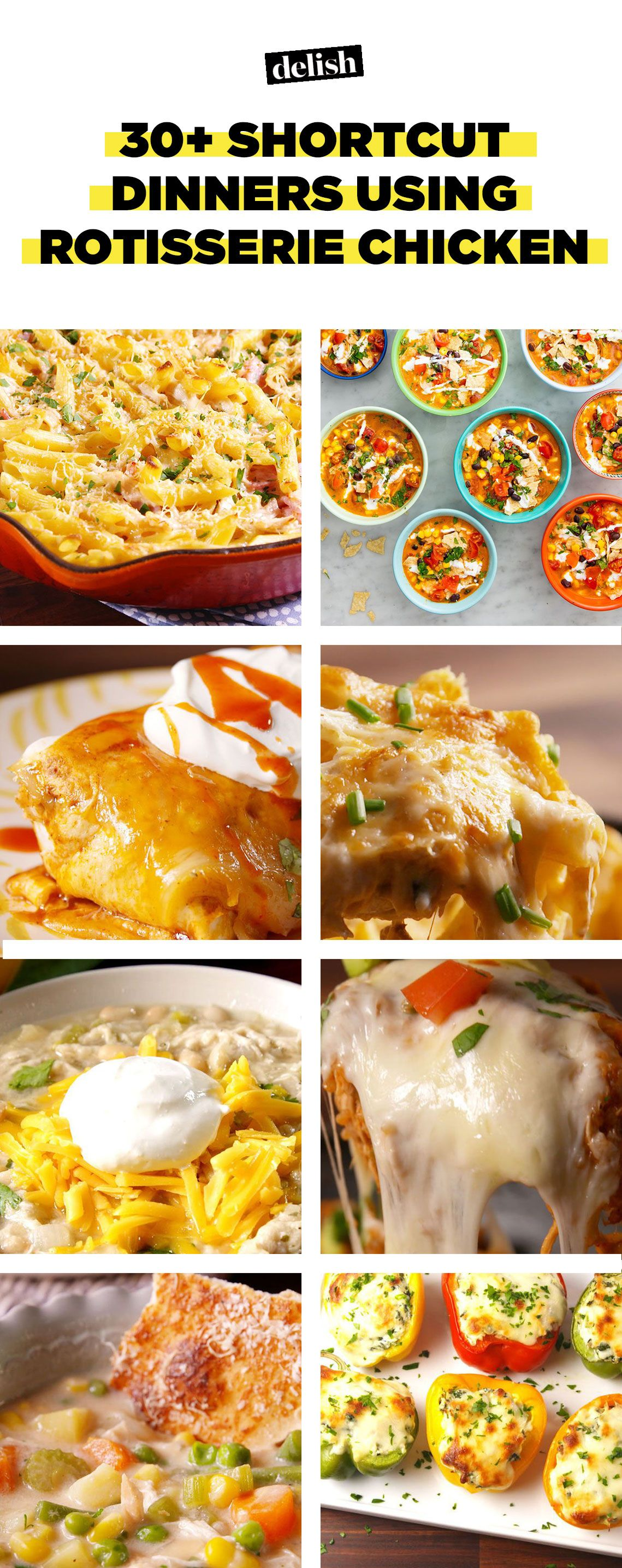 19 recipes using store bought rotisserie chicken leftover chicken 19 recipes using store bought rotisserie chicken leftover chicken recipes delish forumfinder Choice Image