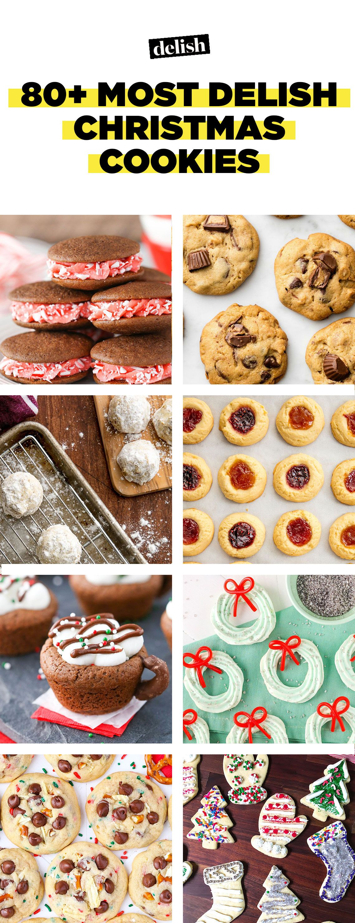 50 easy christmas cookies best recipes for holiday cookiesdelishcom