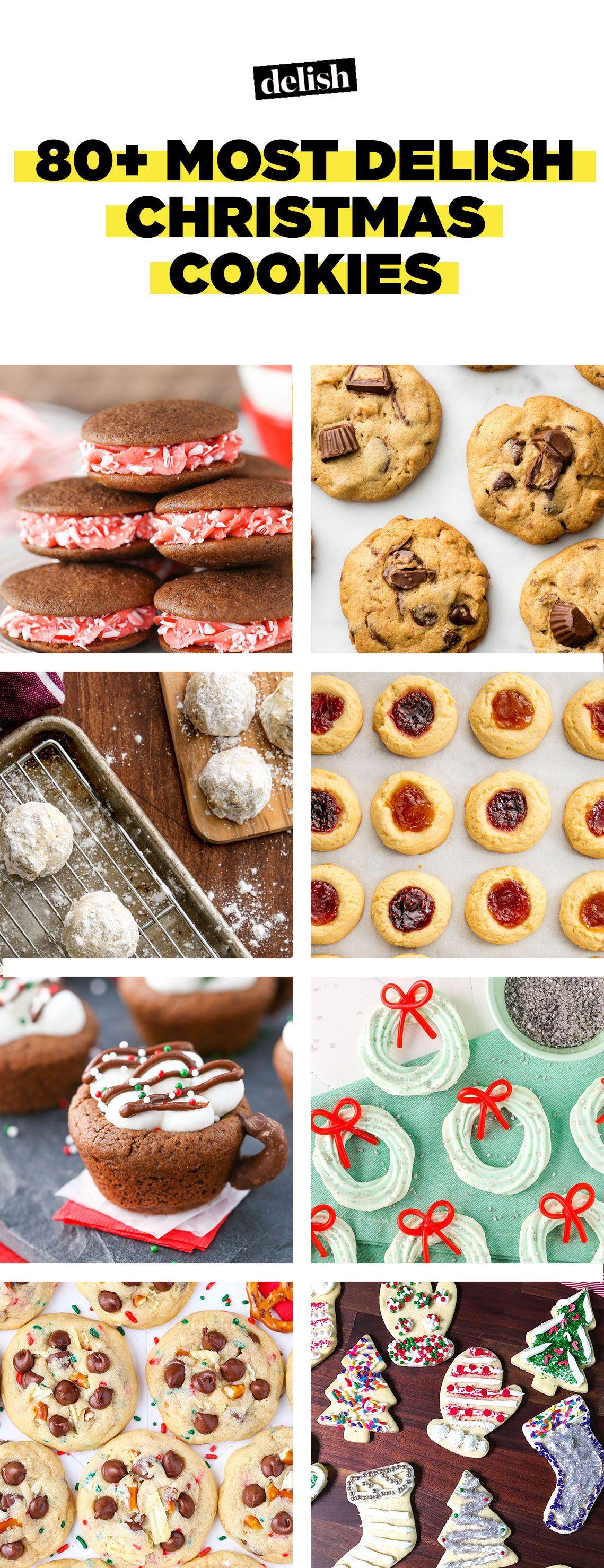 50 easy christmas cookies best recipes for holiday cookiesdelishcom - List Italian Christmas Cookies