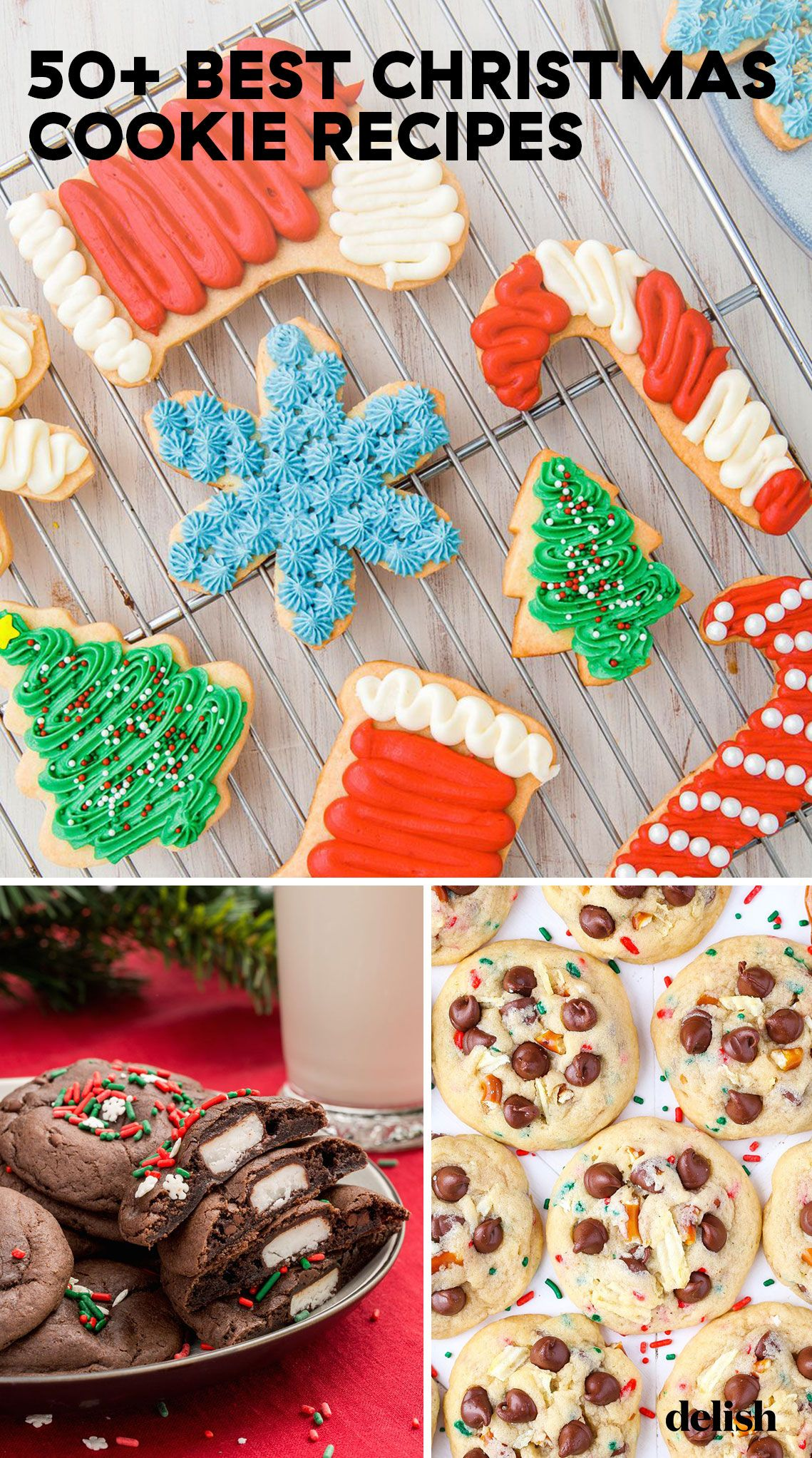 60 Easy Christmas Cookies Best Recipes For Holiday Cookies Delish Com