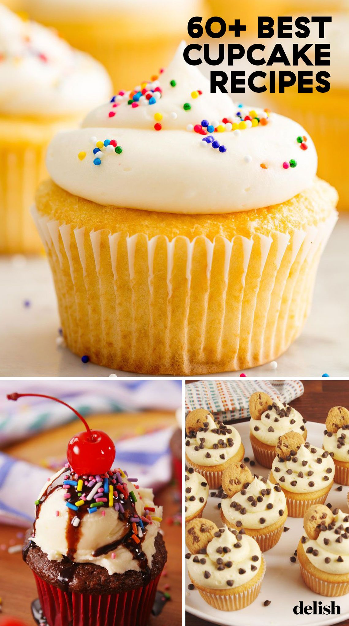 65 Easy Cupcake Recipes From Scratch How To Make Homemade Cupcakes Delish Com