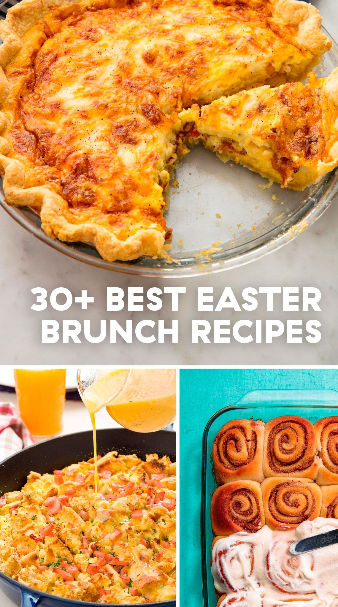 35 easy easter brunch recipes easter brunch menu ideas rh delish com easter lunch buffet recipes easter buffet ideas pinterest