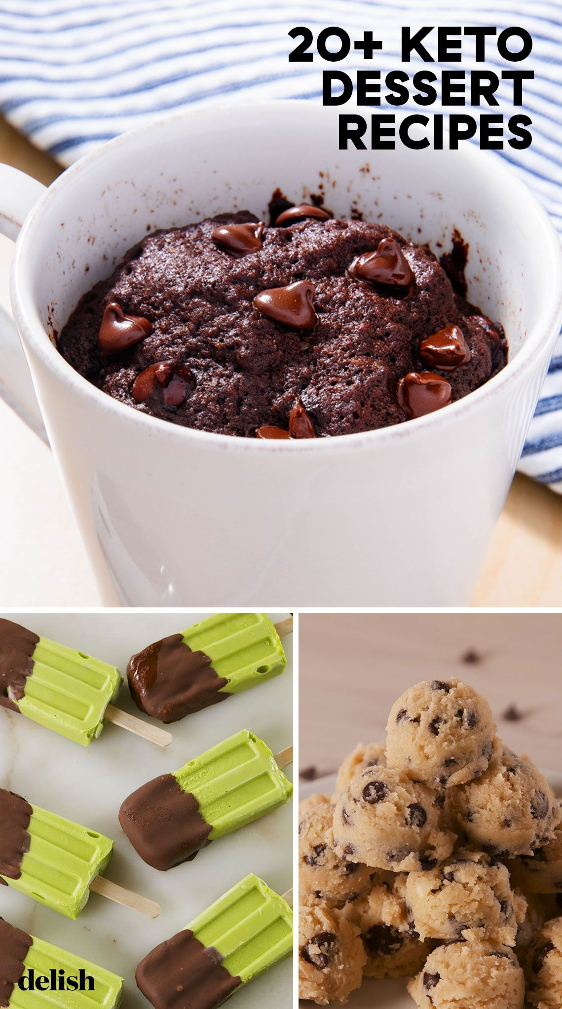 30+ Easy Keto Dessert Recipes , Best Low Carb Desserts for