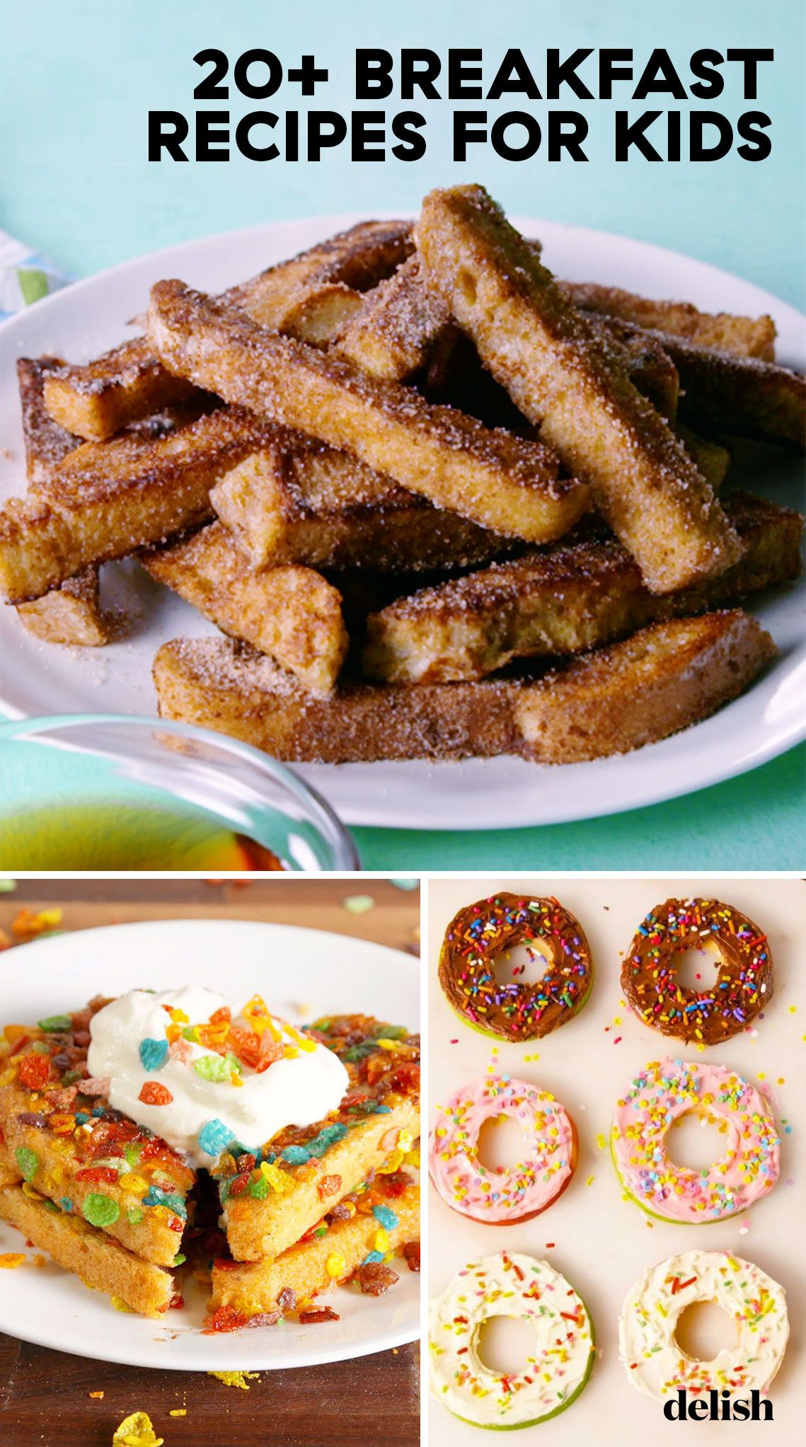 20 Best Breakfast Ideas For Kids Fun Recipes For Easy