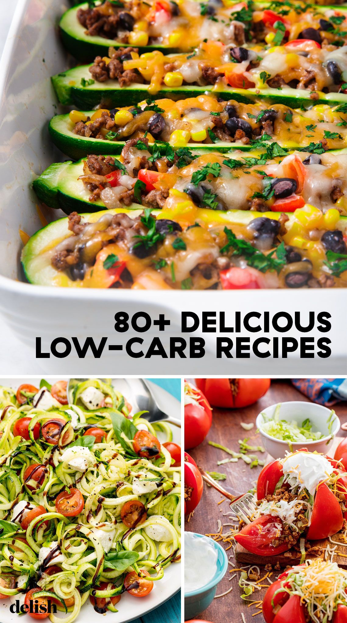 90 Easy Low Carb Recipes Best Low Carb Meal Ideas