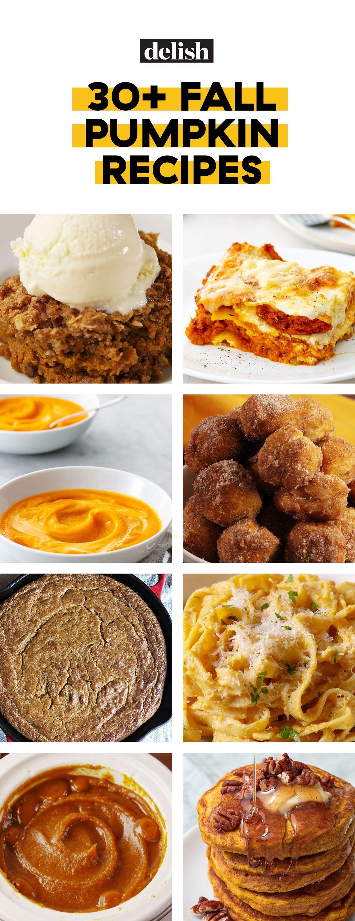10+ Best Pumpkin Recipes - Easy Pumpkin Dinner Ideas to Cook for Fall