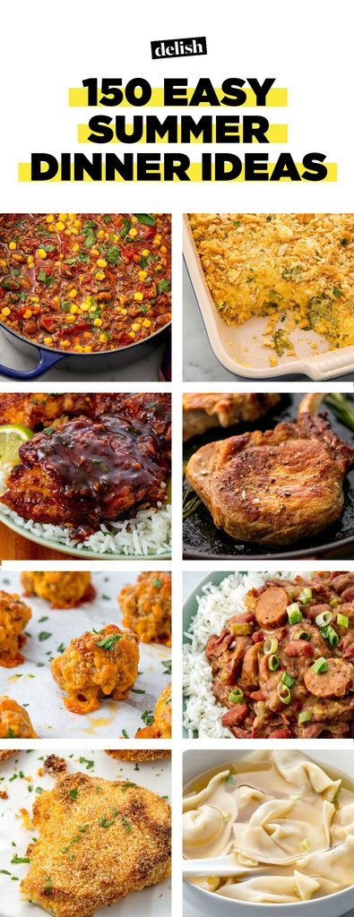70 easy summer dinner recipes best ideas for summer family dinners forumfinder Image collections