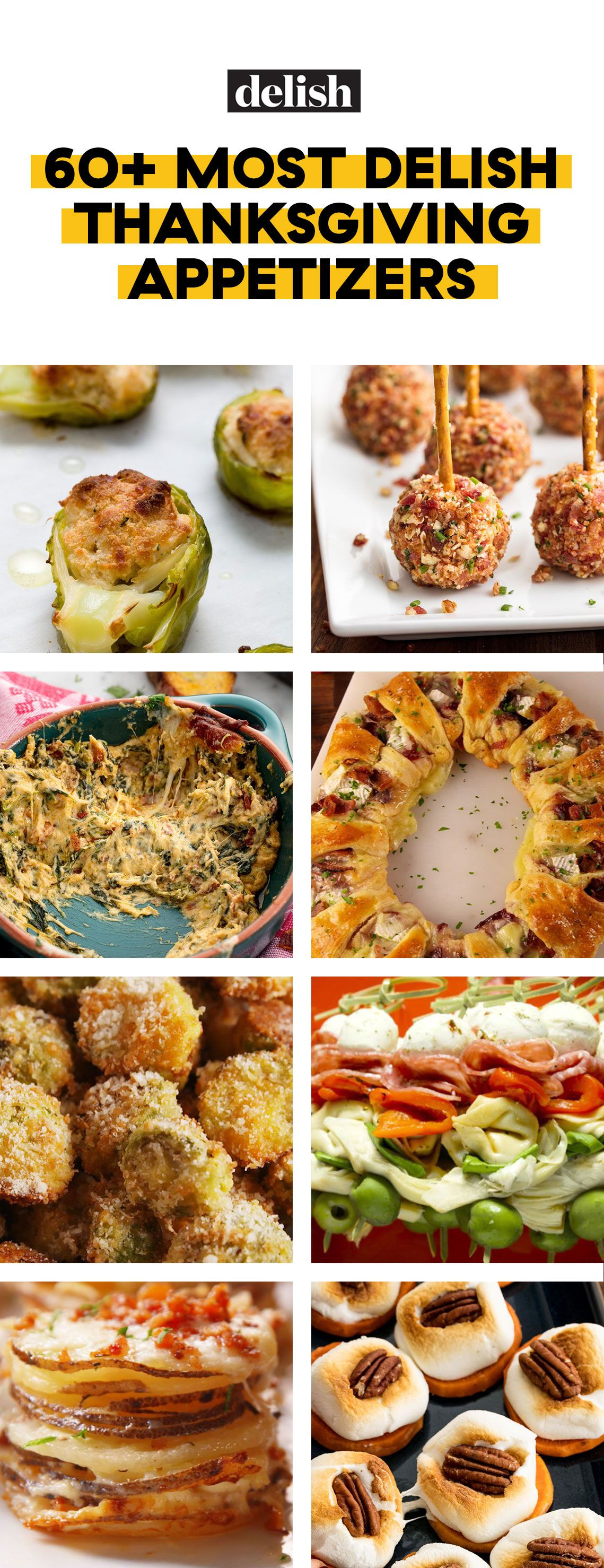 50 Best Thanksgiving Appetizers Ideas For Easy Thanksgiving Apps Recipes