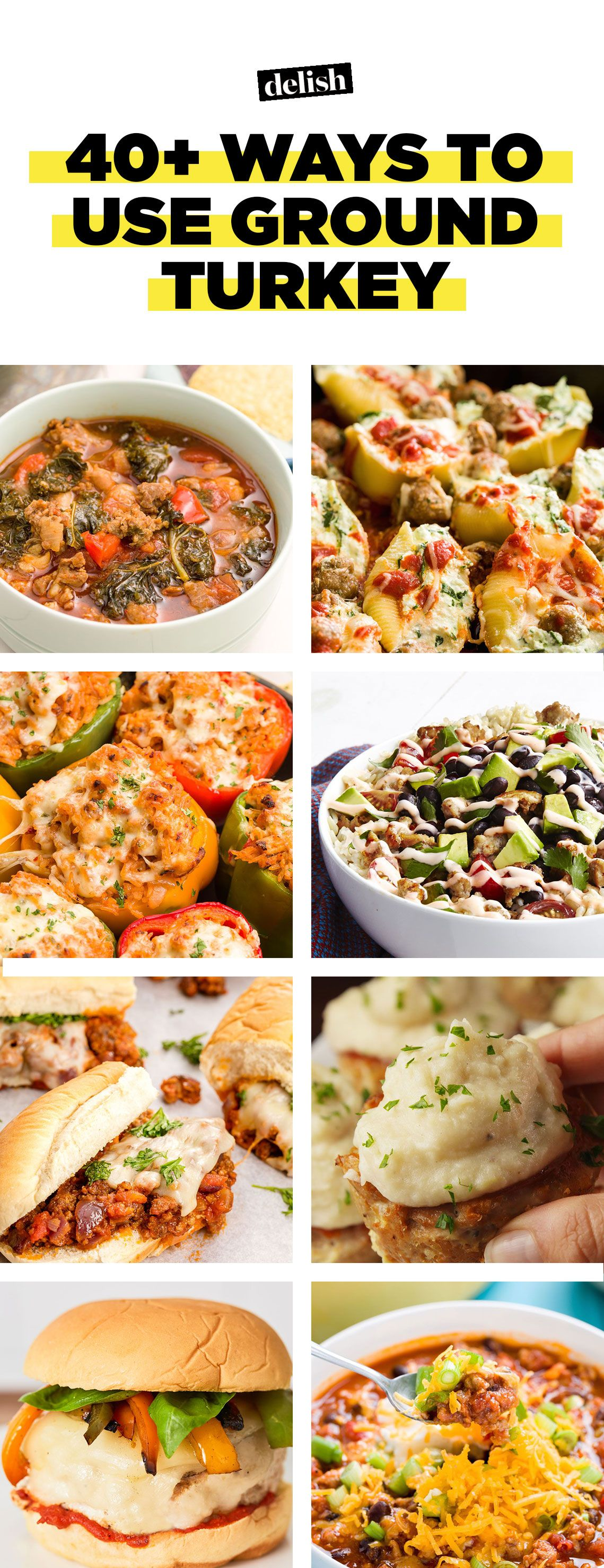 40 Ground Turkey Recipes Healthy Meals With Ground Turkey
