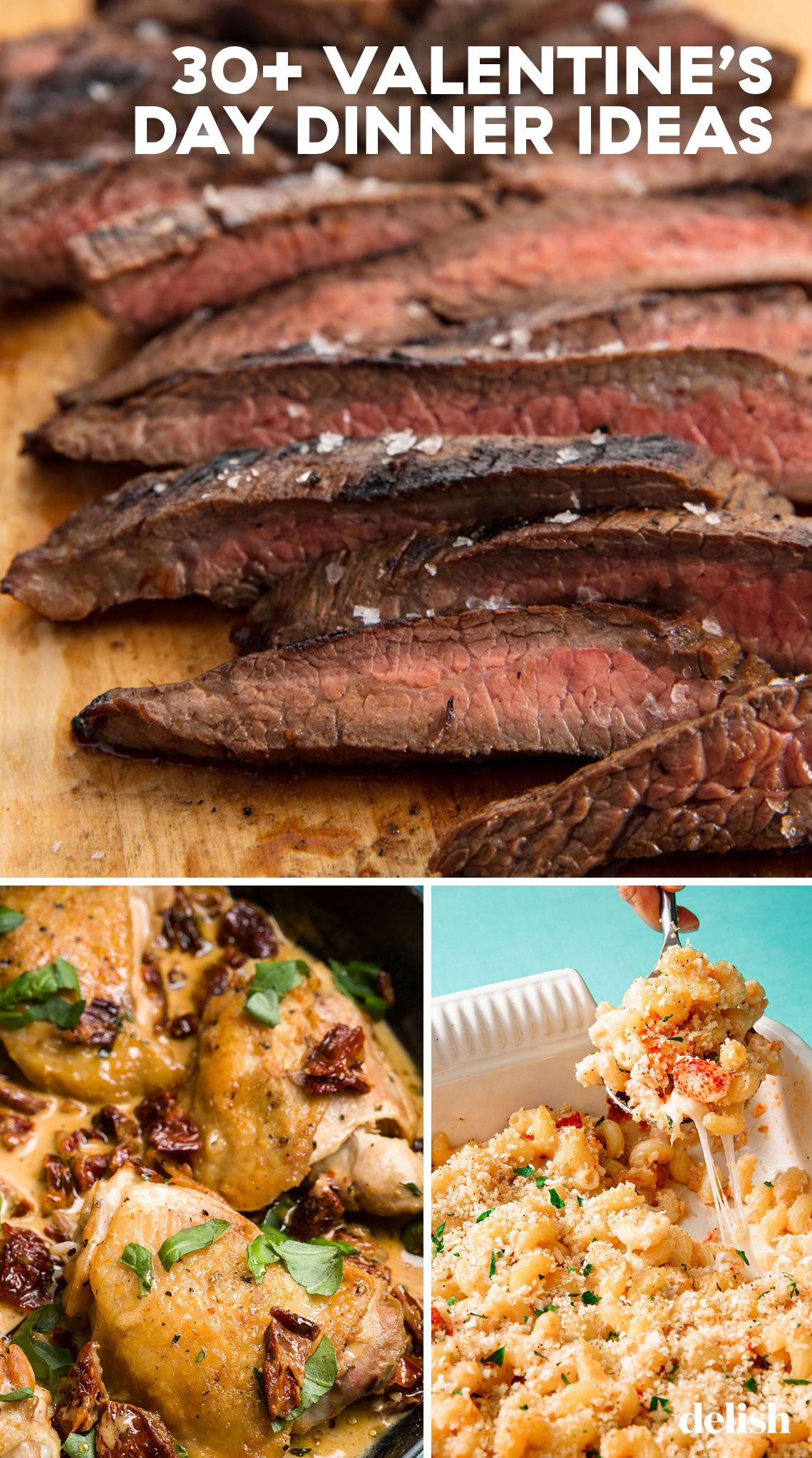 40 Easy Romantic Valentine's Day Dinner Ideas for Two - Best Valentine's  Day Meal Recipes