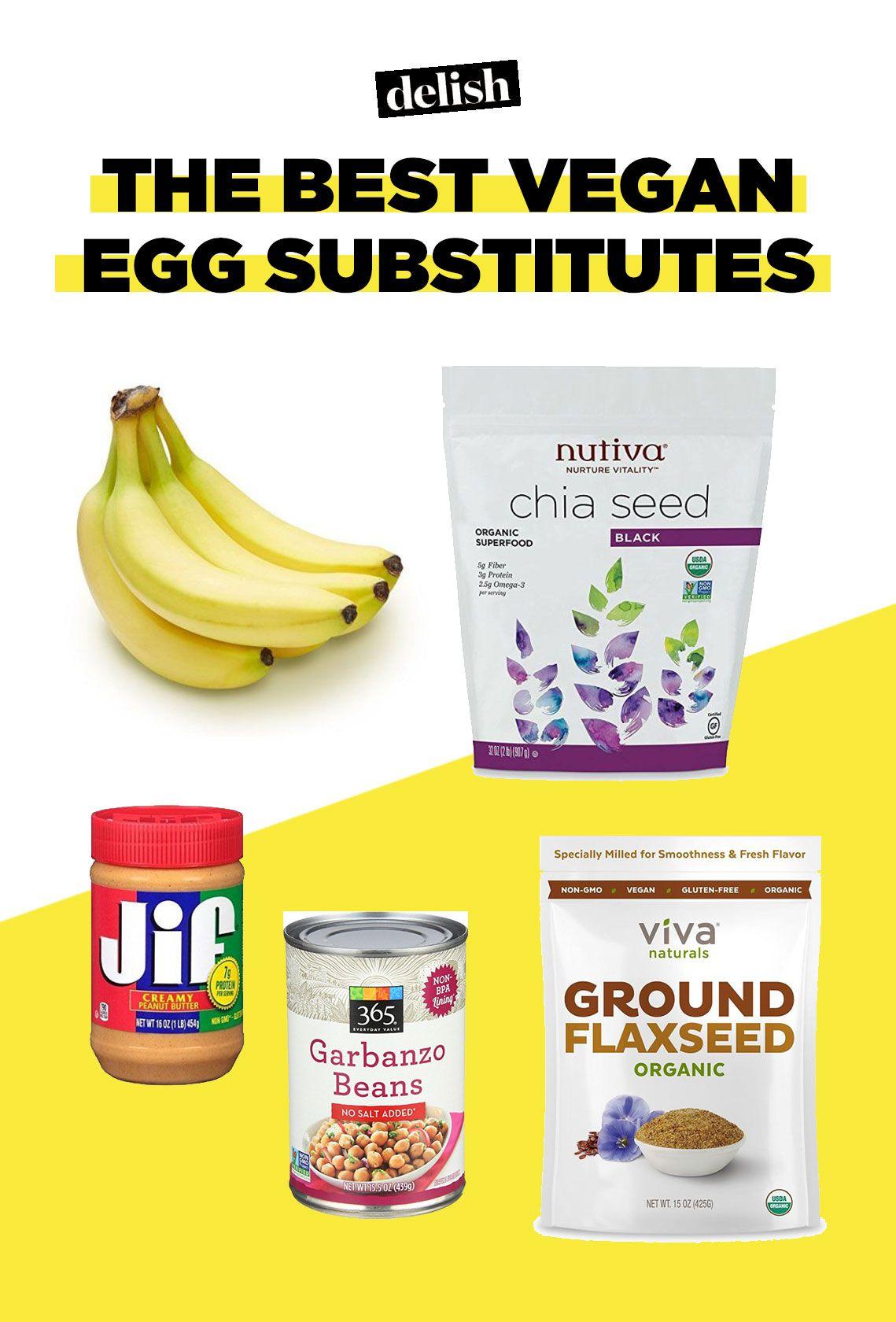 The Best Vegan Egg Substitutes - Delish com